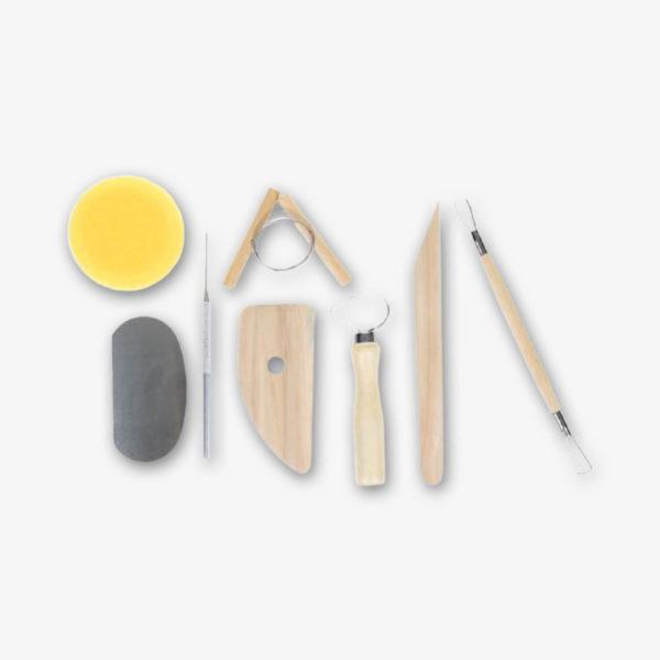Набор инструментов для моделирования, 8 предметов